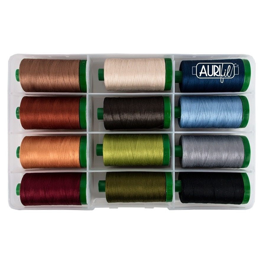 Aurifil lankalajiltelma - Amazing threads 40